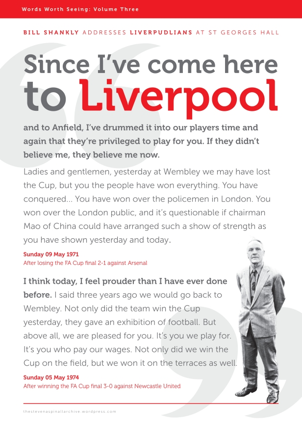 Shankly talks
