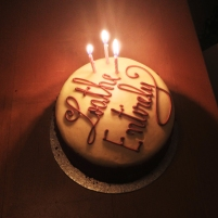 romy_20th cake